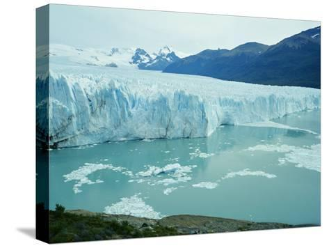 A View of the Perito Moreno Glacier in Patagonia, Argentina-Peter Carsten-Stretched Canvas Print