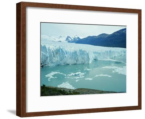 A View of the Perito Moreno Glacier in Patagonia, Argentina-Peter Carsten-Framed Art Print
