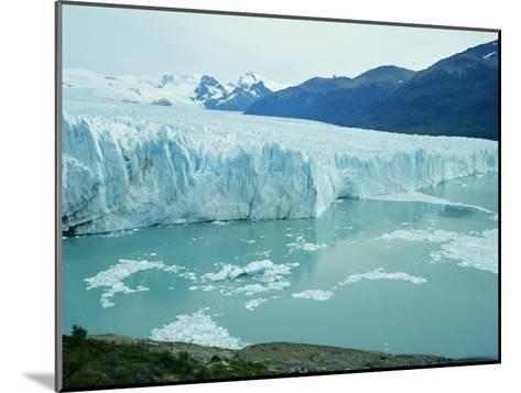 A View of the Perito Moreno Glacier in Patagonia, Argentina-Peter Carsten-Mounted Photographic Print