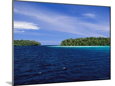 Calm Blue Waters Between Two Tropical Islands-Wolcott Henry-Mounted Photographic Print