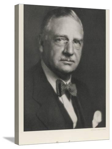 Otto Loewi American Pharmacologist Born in Germany--Stretched Canvas Print