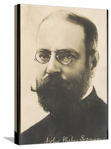 John Philip Sousa, Nicknamed the March King--Stretched Canvas Print