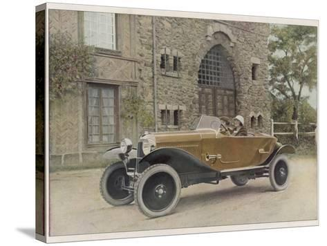 The Citroen Caddy of 12Hp is a Sporty Little Two-Seater for Summer Touring--Stretched Canvas Print