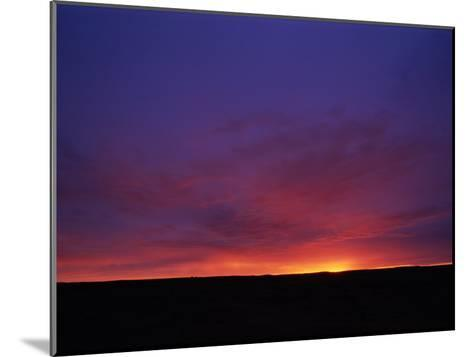 Twilight Sky, South Australia--Mounted Photographic Print