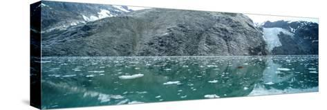 A Wide-Angle View of Glacier Bay in Alaska-Barry Tessman-Stretched Canvas Print