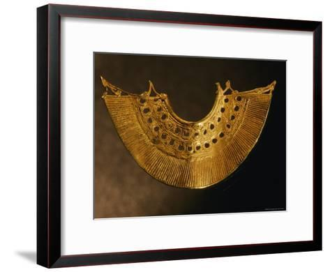 An Earring from Colombias Sinu Culture--Framed Art Print