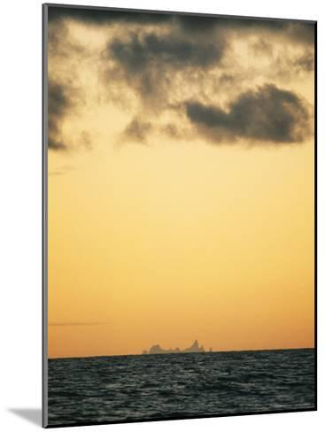 Distant View of Tubuai Island-Luis Marden-Mounted Photographic Print
