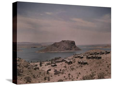 The Elephant Butte Reservoir was Formed as a Result of the Elephant Butte Dam Being Built-Luis Marden-Stretched Canvas Print
