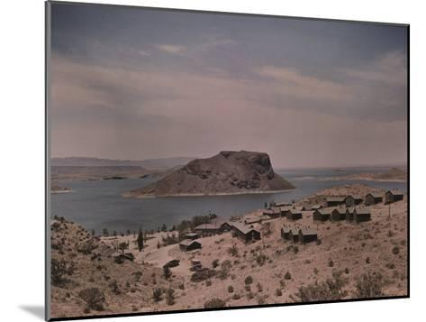 The Elephant Butte Reservoir was Formed as a Result of the Elephant Butte Dam Being Built-Luis Marden-Mounted Photographic Print