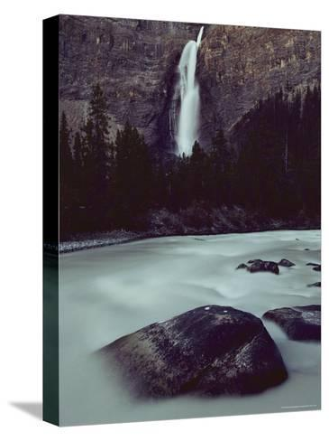 Takakkkaw Falls is Canadas Second Largest Waterfall--Stretched Canvas Print