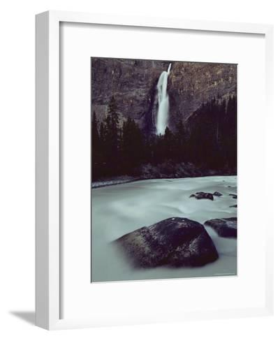Takakkkaw Falls is Canadas Second Largest Waterfall--Framed Art Print