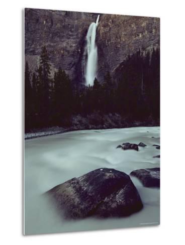 Takakkkaw Falls is Canadas Second Largest Waterfall--Metal Print