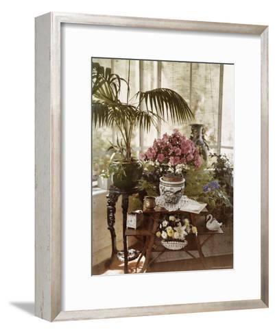 Flower Arrangement-Maynard Owen Williams-Framed Art Print