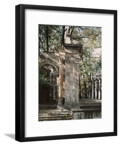 The Outdoor Theater of the Lazienki Palace-Maynard Owen Williams-Framed Art Print