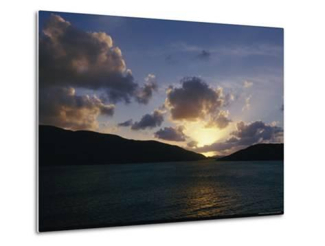 The Sun Hides Behind a Cloud Low in the Sky-Todd Gipstein-Metal Print