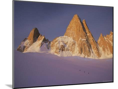 View of Cerro Fitzroy (Center) and Surrounding Peaks-Bobby Model-Mounted Photographic Print