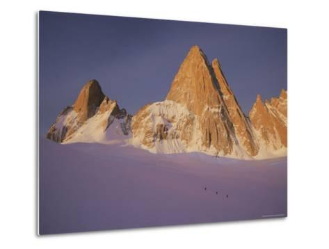 View of Cerro Fitzroy (Center) and Surrounding Peaks-Bobby Model-Metal Print