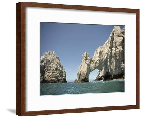 A Natural Arch over the Water-Luis Marden-Framed Art Print