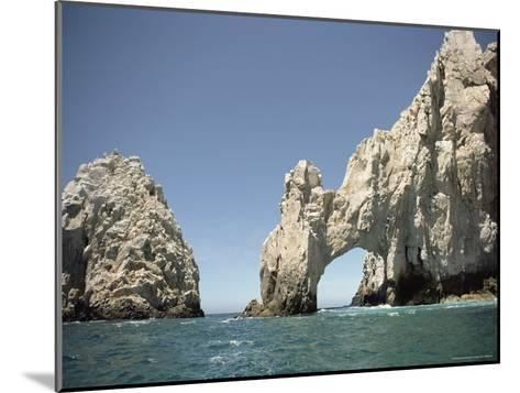 A Natural Arch over the Water-Luis Marden-Mounted Photographic Print