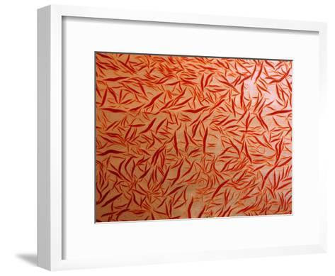 A Close-up View of a Soft Coral-Wolcott Henry-Framed Art Print