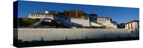 View of the Potala Palace in Tibet-Barry Tessman-Stretched Canvas Print