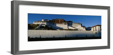 View of the Potala Palace in Tibet-Barry Tessman-Framed Art Print
