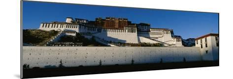 View of the Potala Palace in Tibet-Barry Tessman-Mounted Photographic Print