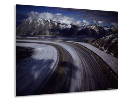 Overview of the 45-Mile-Long Kaskawulsh Glacier-Sam Abell-Metal Print