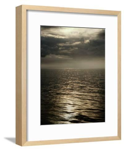 Clouds and Mist Hover over the Inside Passage-Anne Keiser-Framed Art Print