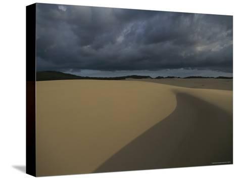 Sand Dunes on Fraser Island-Sam Abell-Stretched Canvas Print