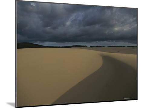 Sand Dunes on Fraser Island-Sam Abell-Mounted Photographic Print