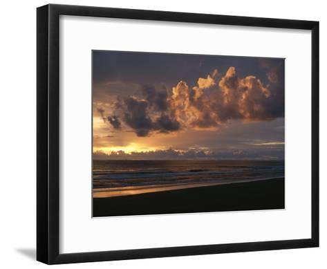 Twilight View of Pacific Ocean from Oregon Coast-Sam Abell-Framed Art Print