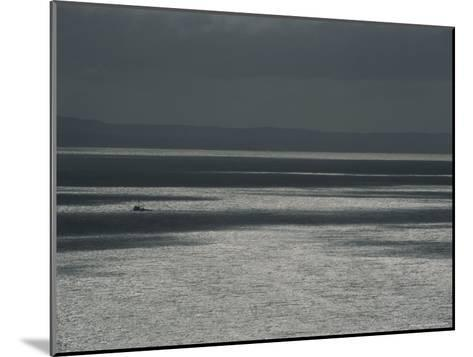 A Fishing Boat on the Vast Waters of Alitak Bay-George F^ Mobley-Mounted Photographic Print