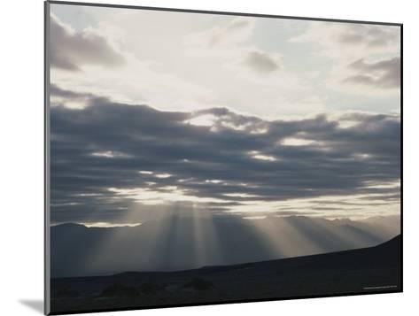 Sunrise in Death Valley, with Amargosa Range in Background-Gordon Wiltsie-Mounted Photographic Print