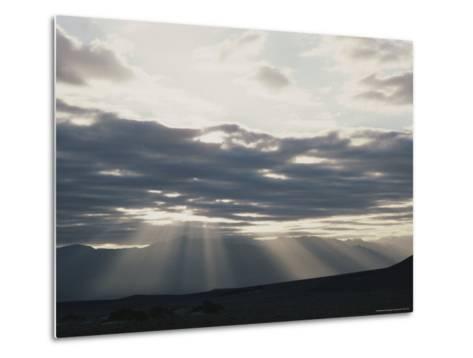 Sunrise in Death Valley, with Amargosa Range in Background-Gordon Wiltsie-Metal Print