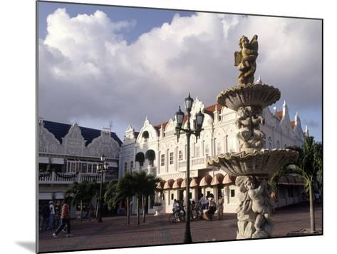 Shopping Area, Oranjestad, Aruba-Pat Canova-Mounted Photographic Print
