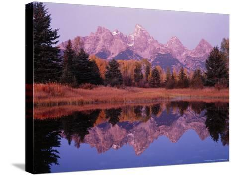 Moran Landing, Teton National Park, Wy-Stuart Westmorland-Stretched Canvas Print