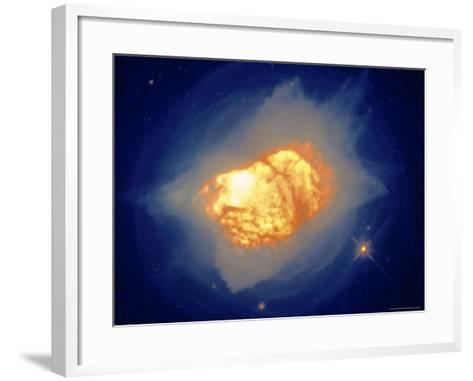 Stellar Death Process-Arnie Rosner-Framed Art Print