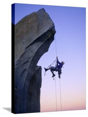 Rock Climbing, the Needles, CA-Greg Epperson-Stretched Canvas Print