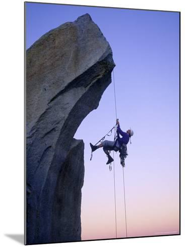 Rock Climbing, the Needles, CA-Greg Epperson-Mounted Photographic Print