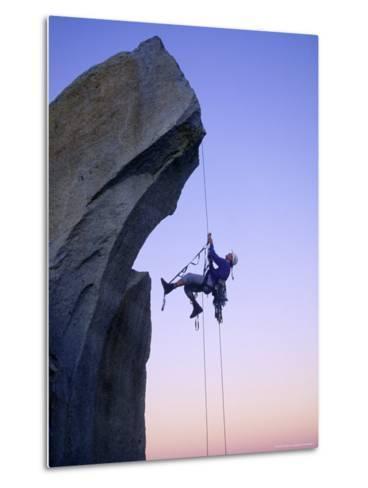 Rock Climbing, the Needles, CA-Greg Epperson-Metal Print