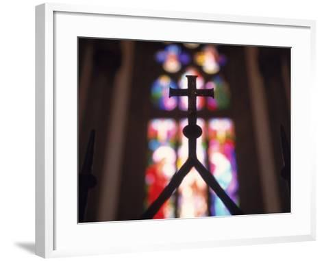 Sao Pedro De Alcantara Cathedral, Petropolis-Silvestre Machado-Framed Art Print