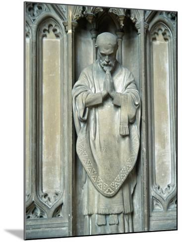 Sculpture of a Saint, UK-Ron Russell-Mounted Photographic Print