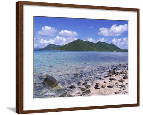Mary Creek and Point, North Shore, St. John, USVI-Jim Schwabel-Framed Art Print