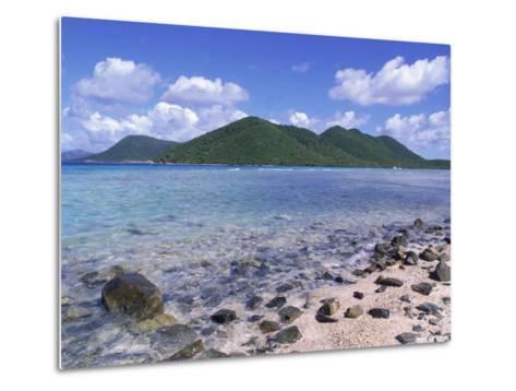 Mary Creek and Point, North Shore, St. John, USVI-Jim Schwabel-Metal Print