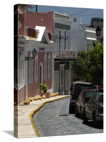 Old San Juan, Puerto Rico-Lauree Feldman-Stretched Canvas Print