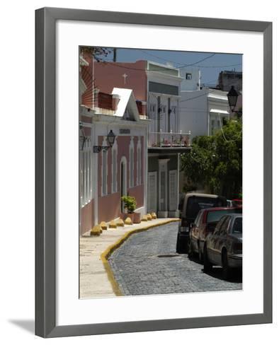 Old San Juan, Puerto Rico-Lauree Feldman-Framed Art Print