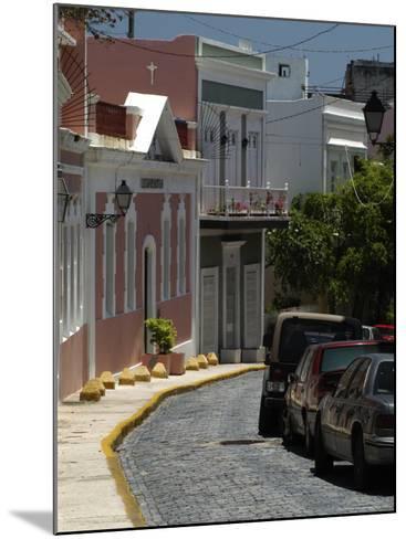 Old San Juan, Puerto Rico-Lauree Feldman-Mounted Photographic Print