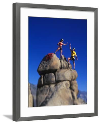 Rock Climbers-Greg Epperson-Framed Art Print