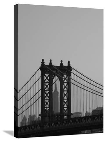 New York City-Keith Levit-Stretched Canvas Print